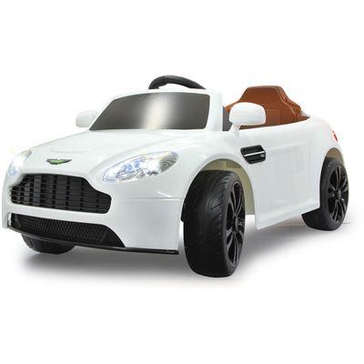 Jamara Kids Ride On Car Aston Martin Vantage 2 4 Ghz Premium Weiß Brandora