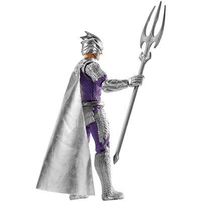 mit Helm Cape und Waffe Orm Aquaman Mattel DC 15 cm Actionfigur