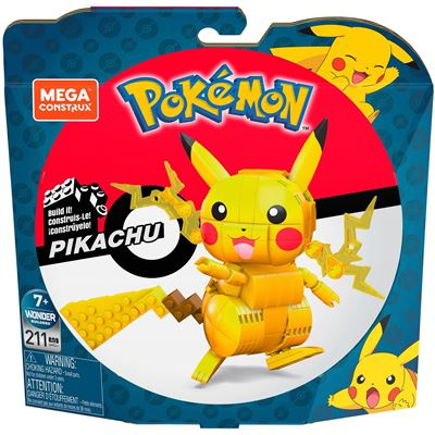 Mattel - Mega Construx Pokémon Medium Pikachu