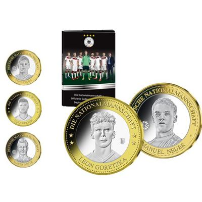 MDM Münzhandelsgesellschaft - offiziellen Ehrenprägungen der deutschen Nationalmannschaft
