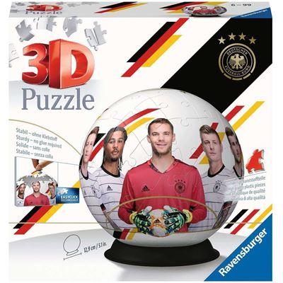 Ravensburger Spiel - Die Mannschaft - 3D Puzzle-Ball, 72 Teile
